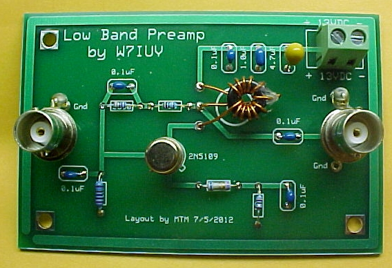 on ham radio pre amp schematic diagram
