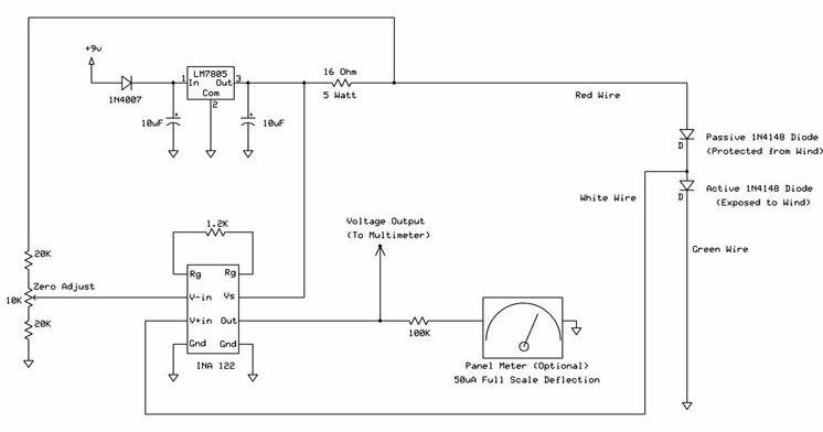 anem13 windspeed indicator project hot wire anemometer circuit diagram at virtualis.co