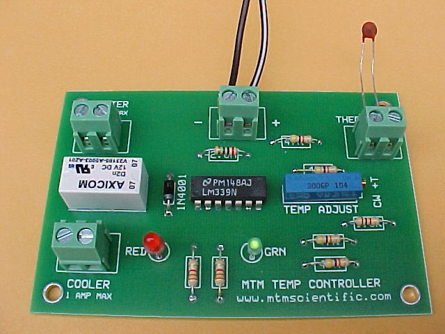 Temperature Controller from MTM Scientific, Inc