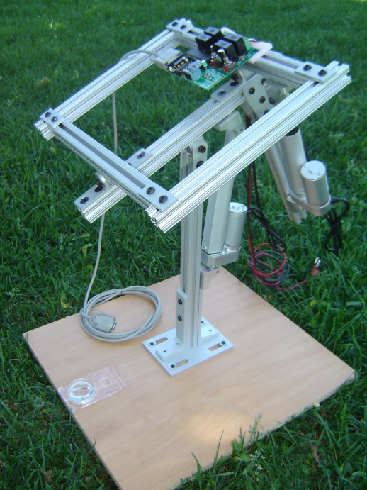 Stmax dual axis solar tracker