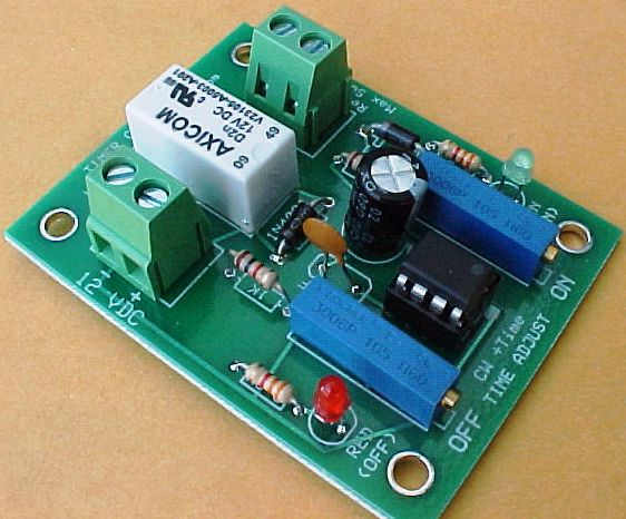 LM555 Time Controlled Switch Kit