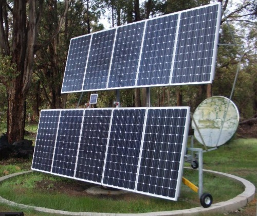 Solar Tracker Project Page
