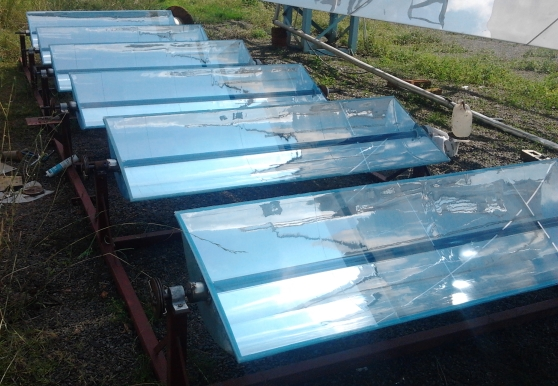 Trough Solar Collector