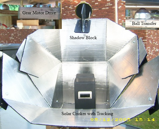 Solar Oven with Tracking